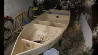 Как сделать лодку из фанеры.