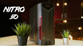 Acer Nitro 50 Review - The $850 Budget Gaming PC!