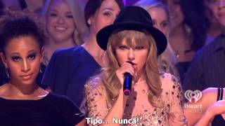 Taylor Swift - We Are Never Ever Getting Back Together (iHeartRadio Music Festival 2012)