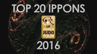 TOP 20 IPPONS  - WORLD JUDO TOUR 2016