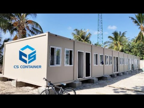 Dormitory Flat Pack Container house
