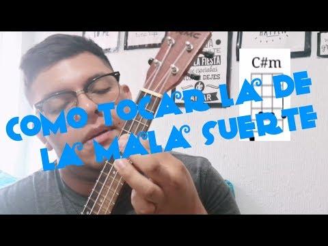 La De La Mala Suerte - Jesse & Joy | Tutorial Ukulele By Ixma Pop ⭐
