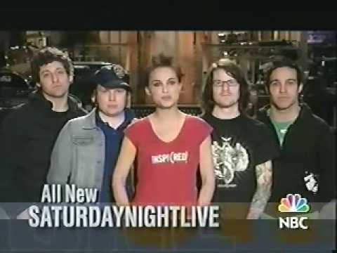 Saturday Night Live - Natalie Portman, Fallout Boy promo