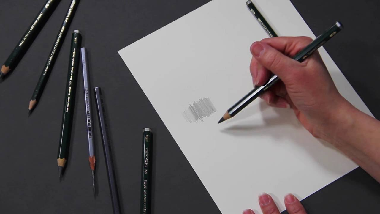 Graphite how to choose graphite pencils