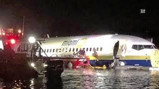 "Boeing 737 ""упал в реку"" в США со 143 пассажирами на борту [04.05.2019]"