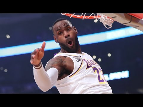 Los Angeles Lakers vs Atlanta Hawks - 1st Qtr Highlights | November 17, 2019-20 NBA Season