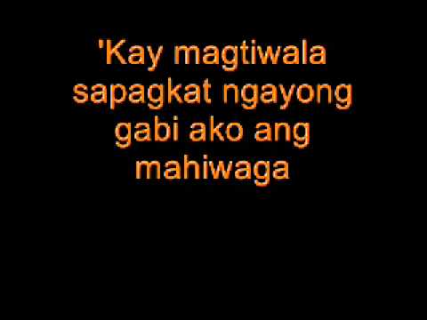 elesi rivermaya  with lyrics