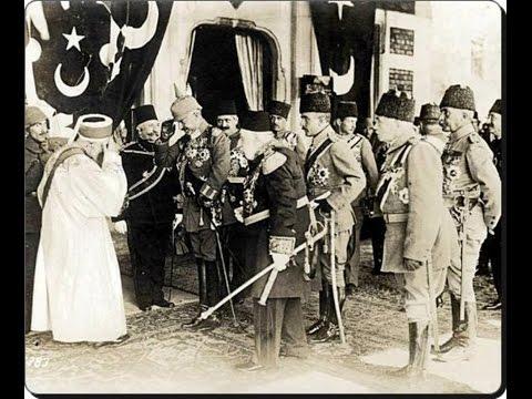 Alman imparatoru istanbul ziyaretinden video görüntüleri 1917