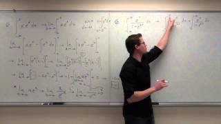 Calculus 2 Lecture 7.6:  Improper Integrals