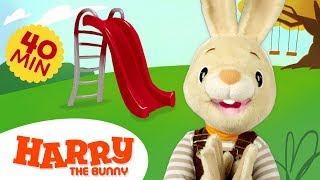 Baby Learning First Words with Harry the Bunny | Educational Family ...