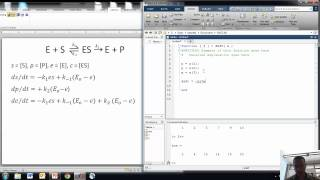 Enzyme Kinetics with MATLAB 2
