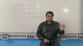 How to Handle Last Week Stress of GATE Exam by Qaisar Hafiz (Ex-I.E.S) - PART I