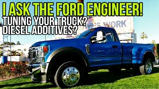I ask THE HARD QUESTIONS! Diesel Chips and Additives! 2020 Super Duty