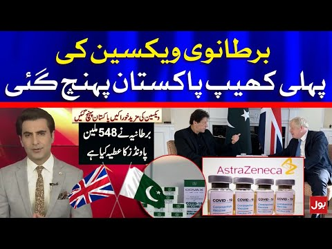 Pakistan Received First Consignment of British AstraZeneca