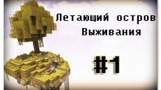 [Летающий остров] выживания minecraft #1