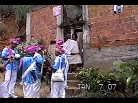 dvd Folia de Reis Sagrada Familia da Mangueira Rio de Janeiro-Brasil