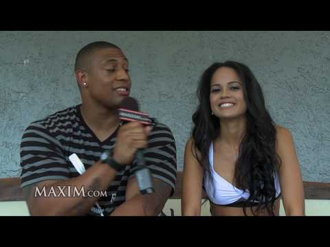 Pittsburgh Steelers LaMarr Woodley - Maxim's NFL Intern