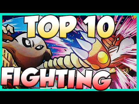 Top 10 Best Fighting Type Pokemon! Fighting Type Pokemon Facts, Stats, And Trivia!