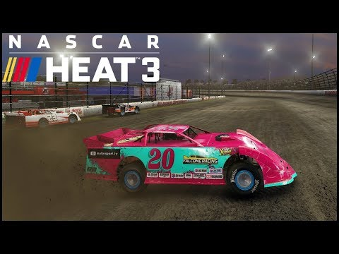 NASCAR Heat 3 - DIRT TRACK RACING - STARTING OUR OWN RACE TEAM!!
