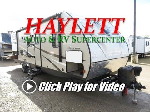 HaylettRV - 2018 Coachmen 275BHS Freedom Express Ultralite Bunkhouse Outside Kitchen Travel Trailer