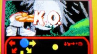 WarioWare D.I.Y. - Ryu vs. Akuma