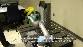 safety analysis of universal robots ur5 robot arm