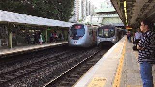 mtr hd 60 fps east rail line metro cammell mlr kinki sharyo sp1900 trains fanling station