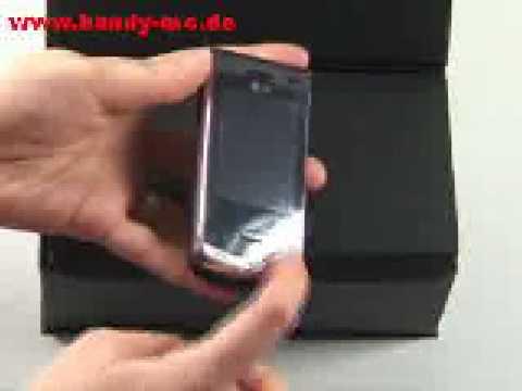 LG KF 750 Secret Test Erster Eindruck