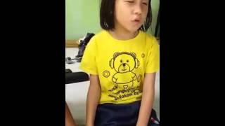 Gadis Cilik membaca Surah Ar Rahman Subhanallah merdunya