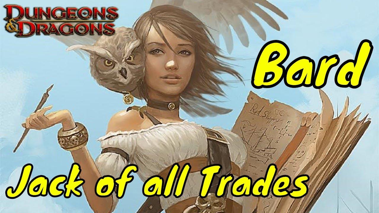 D&D (5e): Jack of all Trades (Bard)