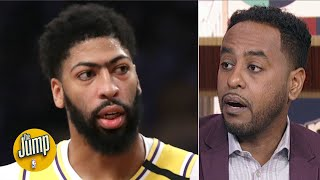 The Lakers look 'kinda ugly' with Anthony Davis but without LeBron - Amin Elhassan   The Jump