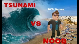 NOOB vs NATURAL DISASTERS! TRY TO SURVIVE! ROBLOX ONLINE