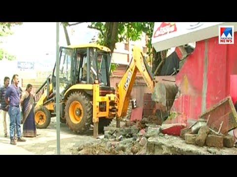 Kozhikode Harbour department taken action against land encroachment