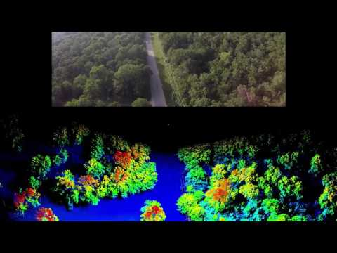 UAV Lidar and 4K Video