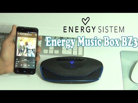 Energy Music Box BZ3 | Review en Español | El Mejor Altavoz Bluetooth del Mercado