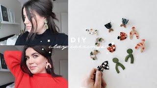 DIY: Clay Earrings