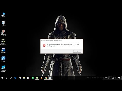 How to fix the error 0xc0000022 on windows 10