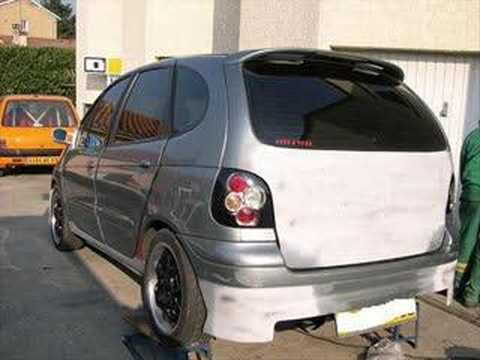 Renault Scenic Tuning Youtube