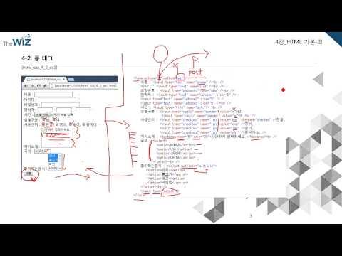실전 HTML5 & CSS3 동영상강좌 제 4강 HTML 기본-III