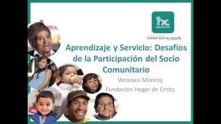 seminario aprendizaje servicio 2014 verónica monroy
