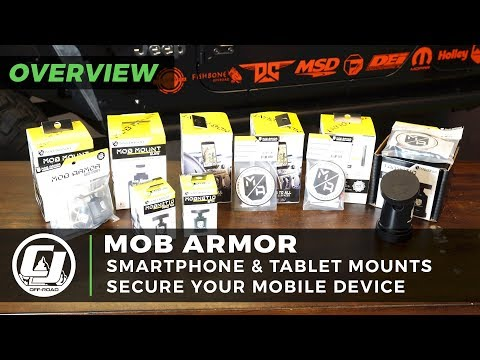 MOB ARMOR | Phone, Tablet And GoPro Mounting Solutions For Your Off Road Vehicle