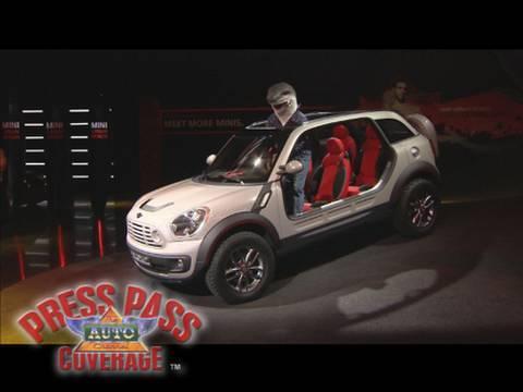 Mini Unveils Beachcomber Concept At 2010 Detroit Auto Show Youtube