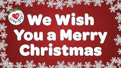 We Wish You a Merry Christmas with Lyrics   Christmas Carol & Song