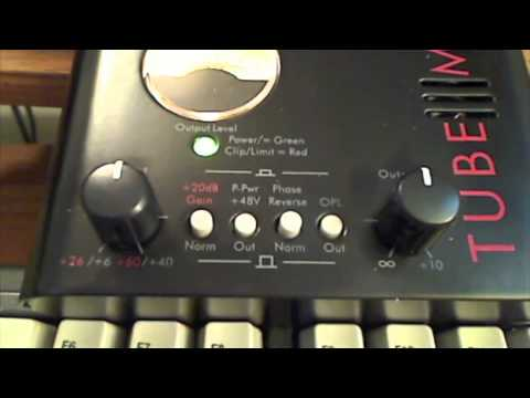 ART Tube MP Studio Mic Preamp Demo 085