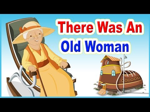 There Was An Old Woman Who Lived In A Shoe Nursery Rhyme With Lyrics | Kids Songs I Kids Poem
