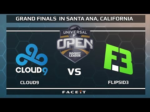 Cloud9 Vs FlipSid3 - WB 1/4's - Universal Open Rocket League Grand Finals