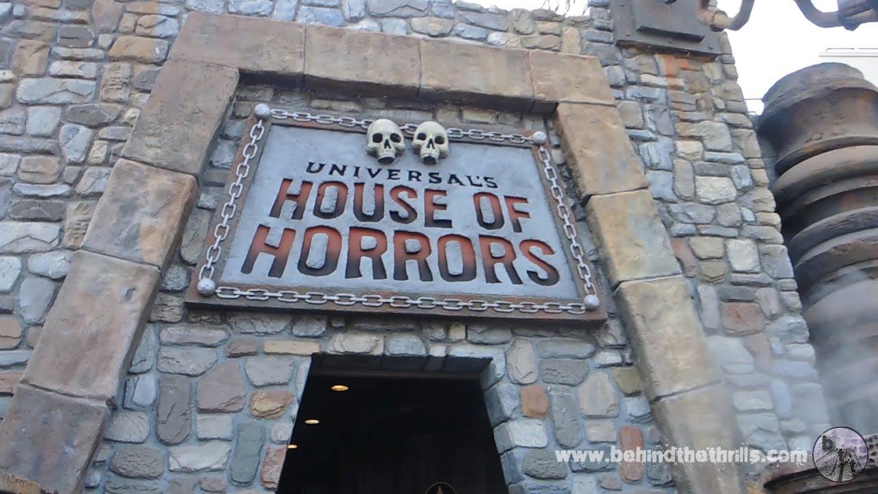 Universal Studios Hollywood   House Of Horrors 2014 Full Walkthrough    YouTube