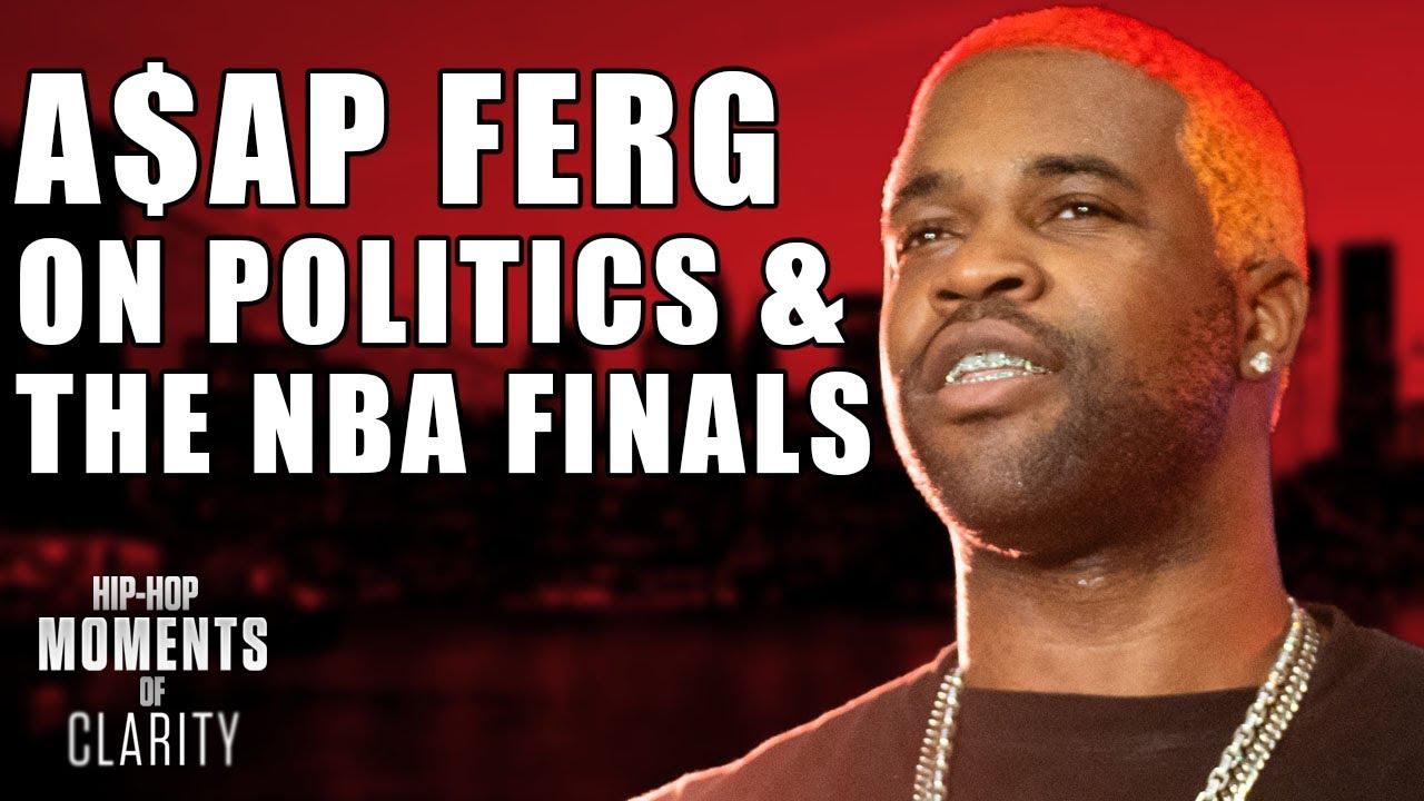 A$AP Ferg on Politics, Predicts the L.A. Lakers Will Win NBA Finals |  Hip-Hop Moments of Clarity