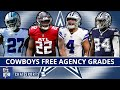 Dallas cowboys free agency grades for 2021 tracking all the signings re signings losses mp3