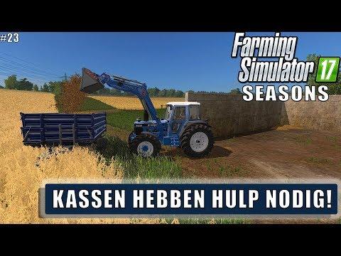 """""""KASSEN HEBBEN HULP NODIG!"""" FarmingSimulator 17 Seasons Ebsdorfer Heide #23"""
